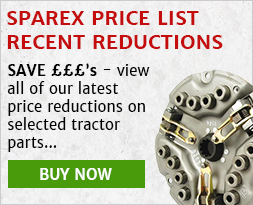 Sparex price list, recent reductions, find out more...