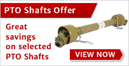 Great savings on PTO shafts