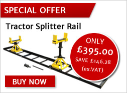SPECIAL OFFER - Tractor Splitter Rails - ONLY £395+vat