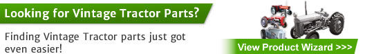 Vintage Tractor Parts - find parts just got even easier!