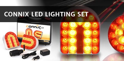 Connix LED wireless trailer lights