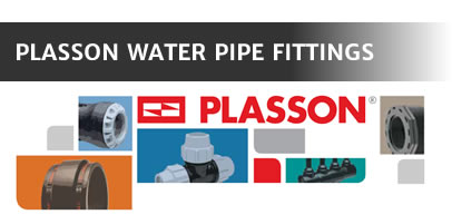Plasson Water Pipe Fittings