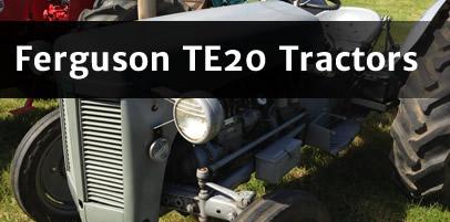 Ferguson TE20 Tractors