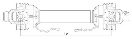 PTO Shaft Length
