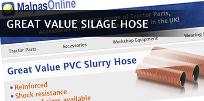 Leaking hose? Replace it with our great value PVC slurry hose