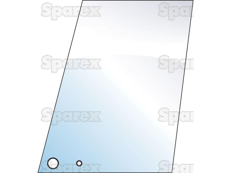 S 10003 Upper Door Glass Lh Rh For Massey Ferguson