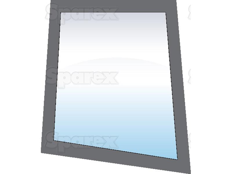 Tractor Door Glass : S upper door glass lh for ford new holland uk
