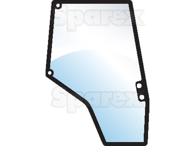 Tractor Door Glass : S glass door rh for massey ferguson m