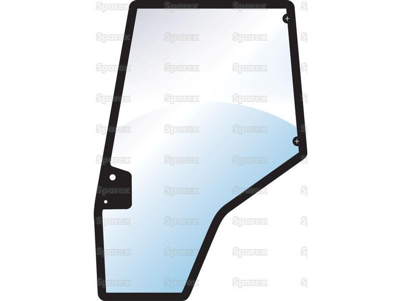 Tractor Door Glass : S glass door lh for massey ferguson