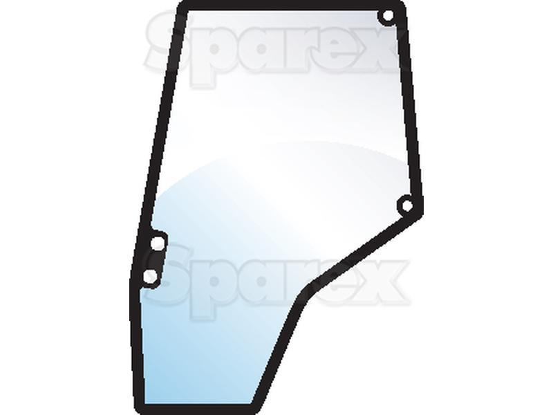 Tractor Door Glass : S glass door lh for massey ferguson m