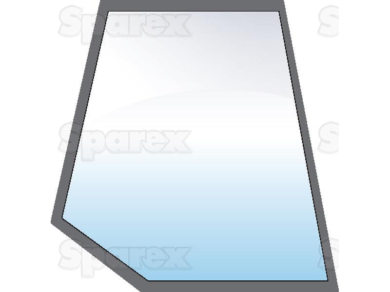 Upper Door Glass RH for Case IH, David Brown, Ford New Holland, John Deere