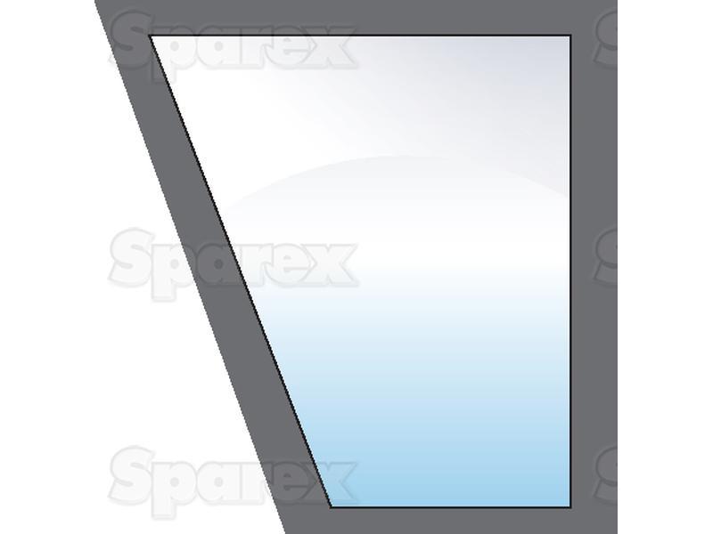 Tractor Door Glass : S lower door glass rh for case ih david brown ford