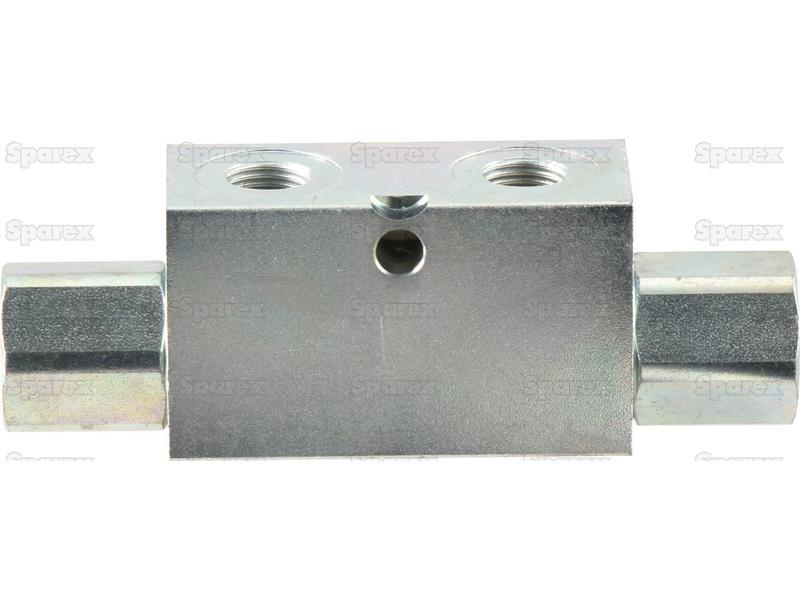 S hydraulic double acting check valve quot bsp uk