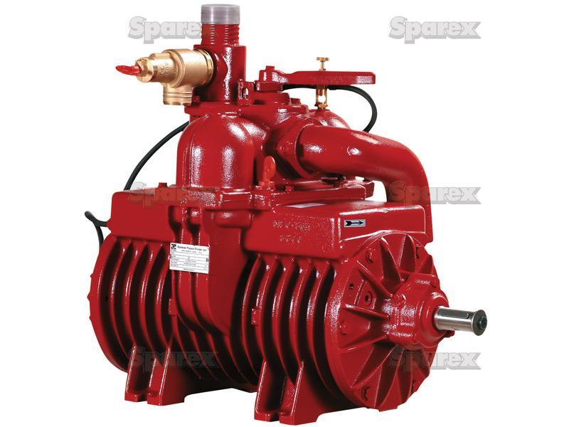 s.101811 battioni pagani mec 13500 p pulley driven vacuum pump