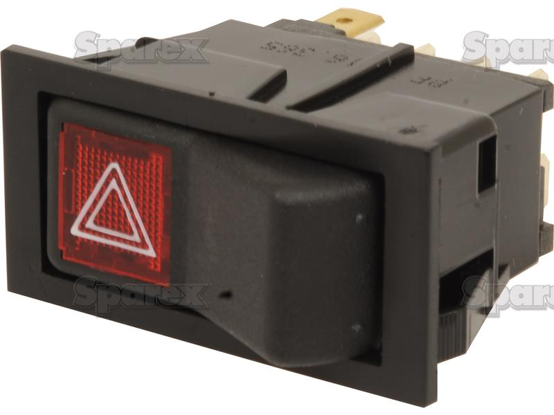 Hazard Switch for Case IH, Fiat, Ford New Holland on
