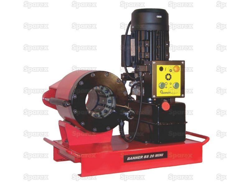 Hydraulic Hose Swaging Machine - BS20 Mini ...  sc 1 st  MalpasOnline & S.112562 Hydraulic Hose Swaging Machine - BS20 Mini | UK Supplier