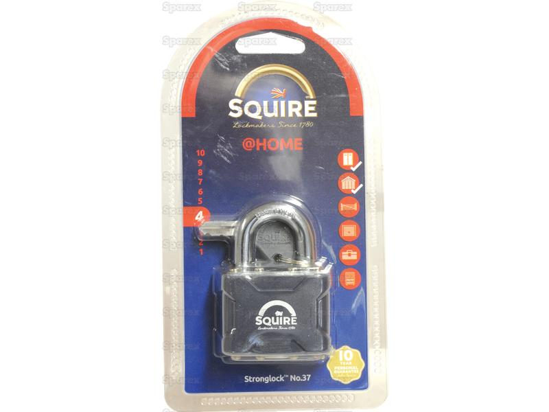 Squire Stronglock Pin Tumbler Padlock - Steel (Security rating: 4)