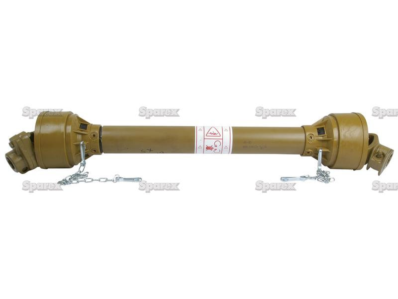 Tractor Pto Shaft Dimensions : S complete standard pto shaft lz length mm