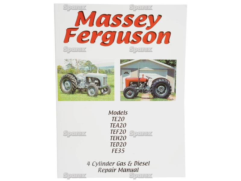 Tractor Manual - 4 Cylinder Gas and Diesel Engines (23C 4 Cyl Diesel  Engine) for Massey Ferguson