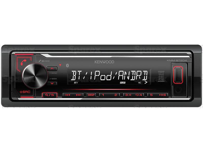 Radio - Mechless | Short Body | Bluetooth | Android | iPod-iPhone | Spotify  App | USB | Receiver