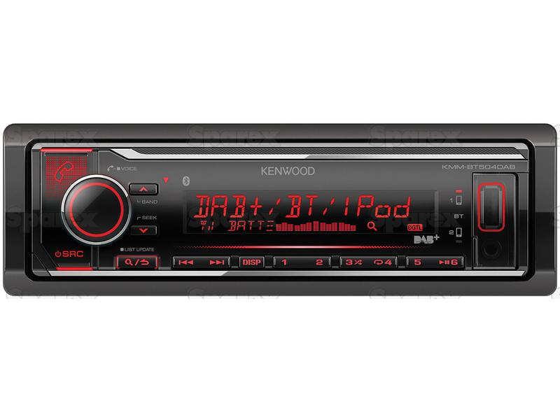 Radio - Mechless | Short Body | DAB | Bluetooth | Android | iPod-iPhone |  Spotify App | USB | Receiver