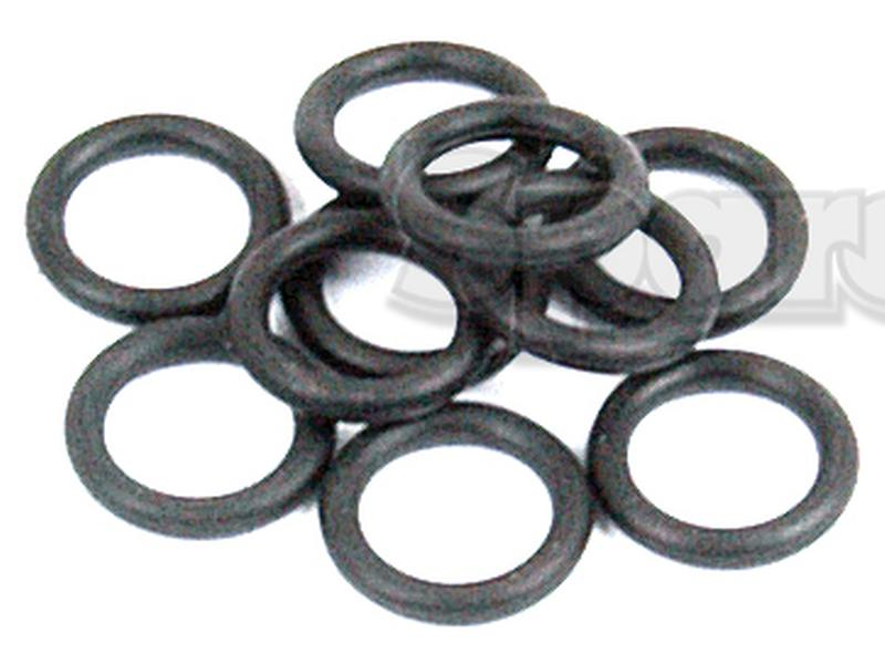 Buna Nitrile Rubber Sterling Seal ORBN461x10 Number-461 Standard O-Ring Pack of 10 16 ID 16-1//2 OD 70 Item Hardness