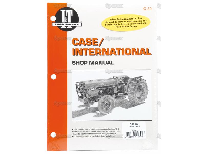 s 19397 case tractor manual for 385 485 585 685 785 885 rh malpasonline co uk Ford Tractor Manuals Tractor Manual Thickness