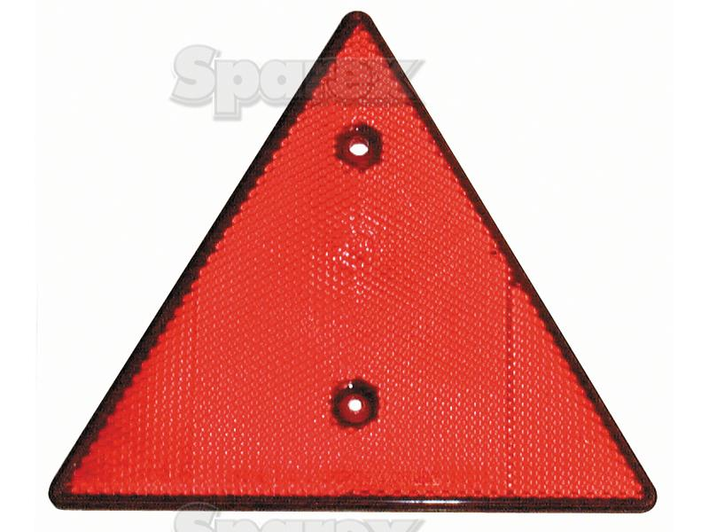 Tractor Reflective Triangles : S reflective triangle quot red uk supplier