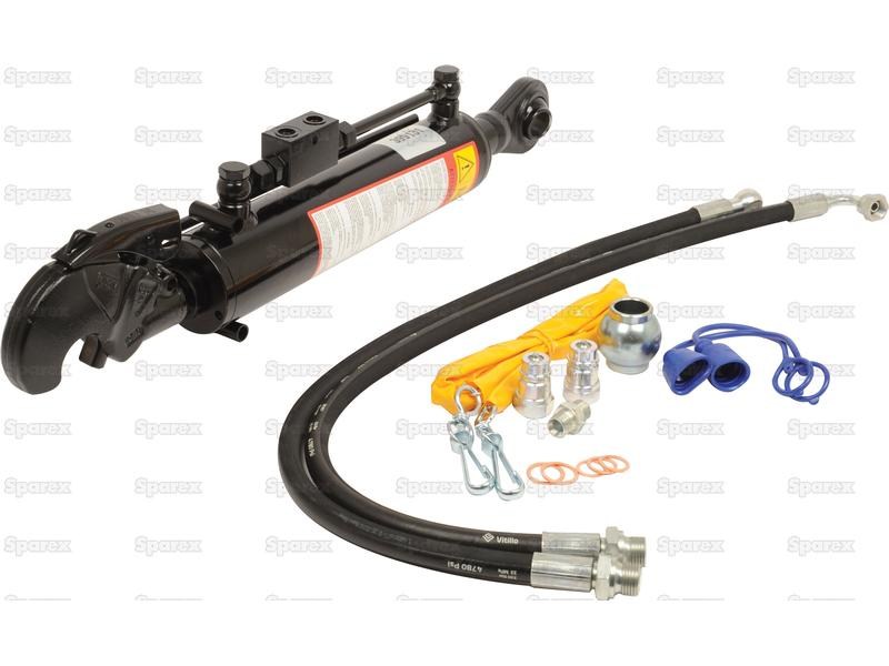 Cat 1 Top Link : S hydraulic top link cat ball and q r hook