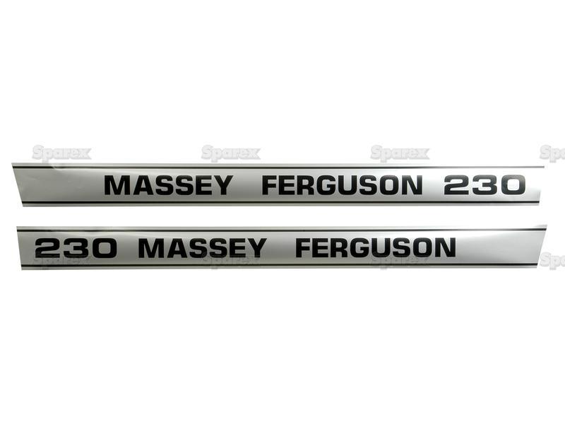 Massey Ferguson Decal Kits : S decal kit mf for massey ferguson uk supplier