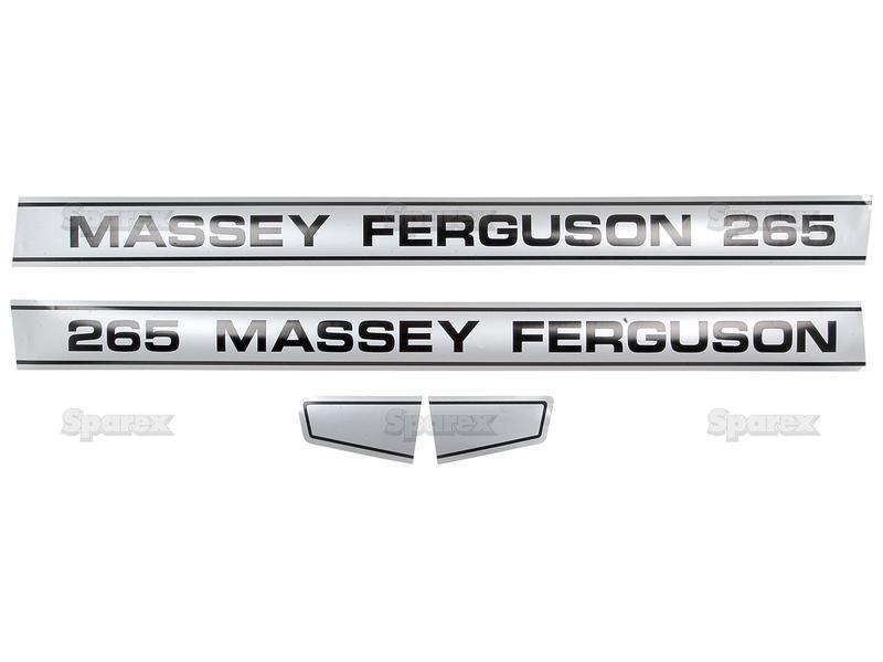 Massey Ferguson Decal Kits : S decal kit mf for massey ferguson landini uk