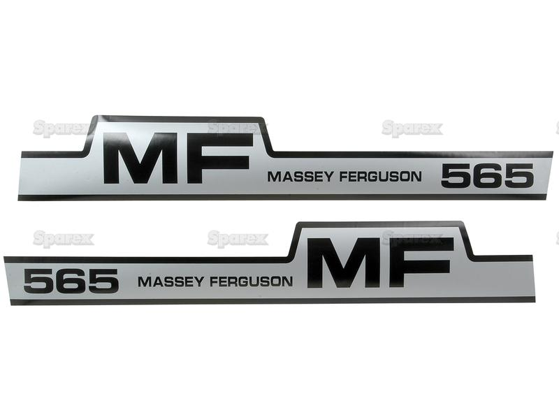 Mf Tractor Decals : S decal kit mf for massey ferguson m