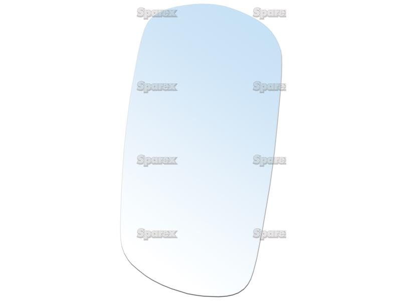 Tractor Glass Replacement : S replacement mirror glass convex hxw mm