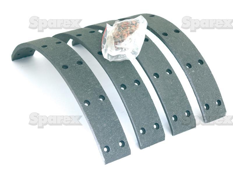 Brake Shoe Lining Thickness : S brake lining kit for massey ferguson m