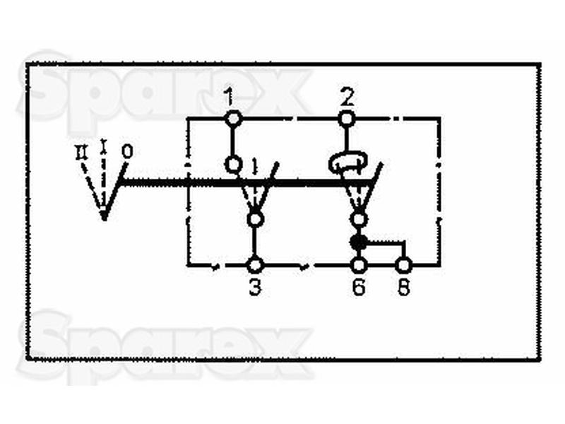 s 56691 rocker switch  1  2  1pc  agripak