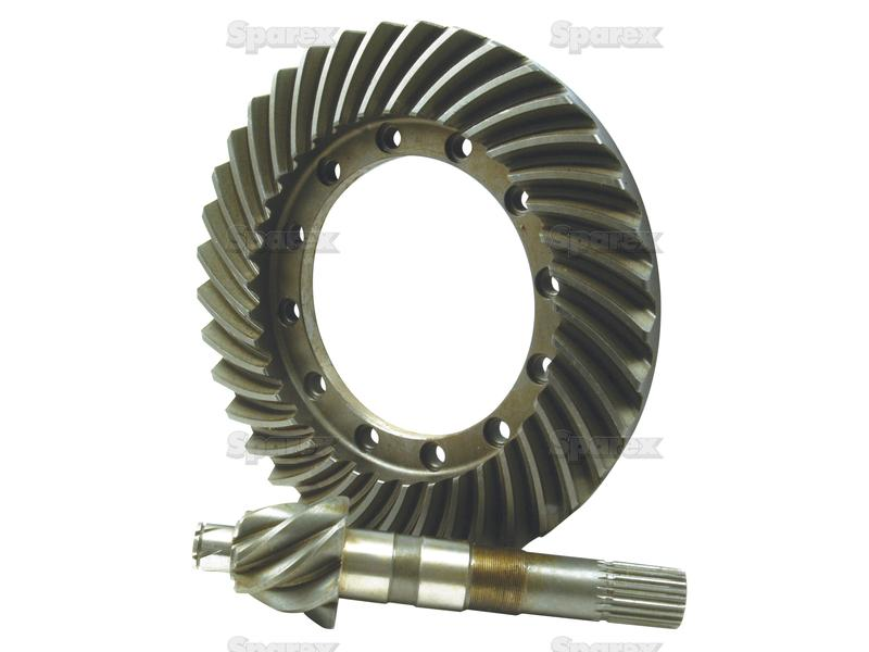 Crown And Pinion : S crown wheel and pinion set for ford new holland