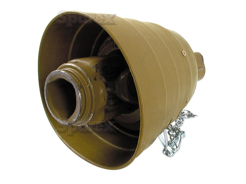 Tractor Pto Tubing : S pto wide angle joint size spline tube