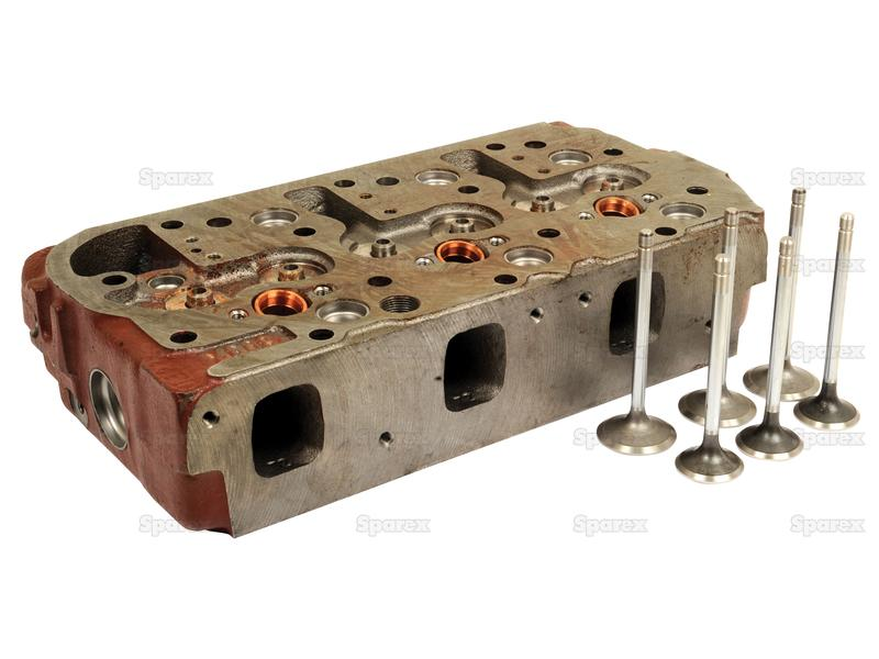 Cylinder Head Assembly : S cylinder head assembly for fiat ford new holland