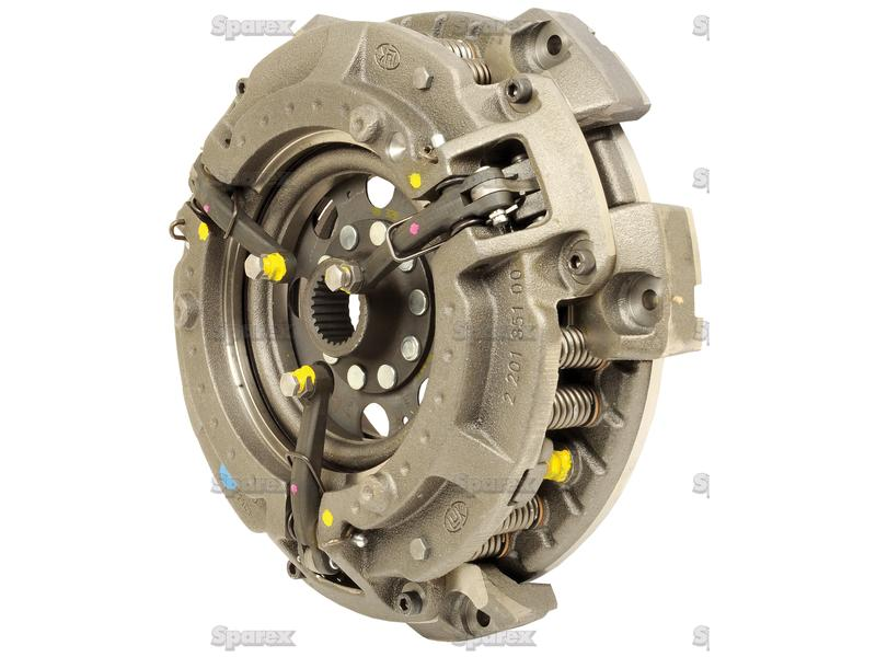 Tractor Clutch Assembly : S clutch assembly for massey ferguson m