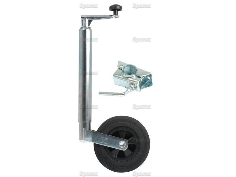 Jockey Wheel Jack Mm Complete on Canadian Tractor Trailer Dimensions