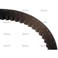 raw edge moulded cogged belt - avx section - belt no  avx13x1550