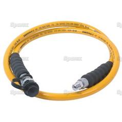Hose assembly for Parker Hannifin Cary Crimp 1 & Carry Crimp 2 Swaging Machine. Length: 1.8m