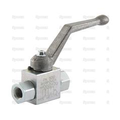 "Hydraulic 2-Way Shut-off Ball valve 1/4""BSP"