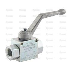 "Hydraulic 2-Way Shut-off Ball valve 3/8""BSP"