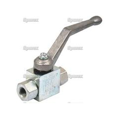 "Hydraulic 2-Way Shut-off Ball valve 3/4""BSP"