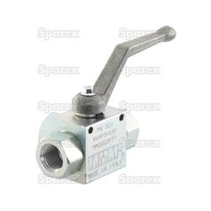 "Hydraulic 3-Way Diverter Ball valve 1/2""BSP"