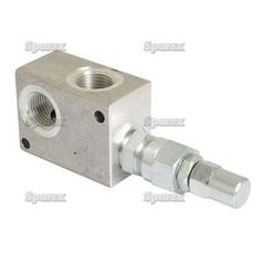 "Hydraulic Relief Valve Direct Acting 1/2""BSP"