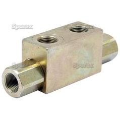 Hydraulic Double Acting Check Valve 3/8''BSP