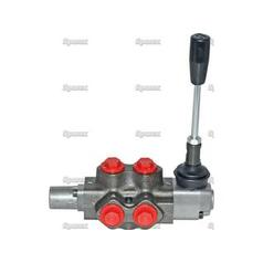 "Hydraulic Diverter Valve - Sliding Spool - 6 Port - Detent Located - 3/8""BSP"