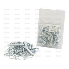 Round Linch Pin, Pin Ø9.5mm x 44.5mm (25 pcs. )